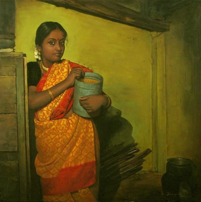 Elayaraja paintings