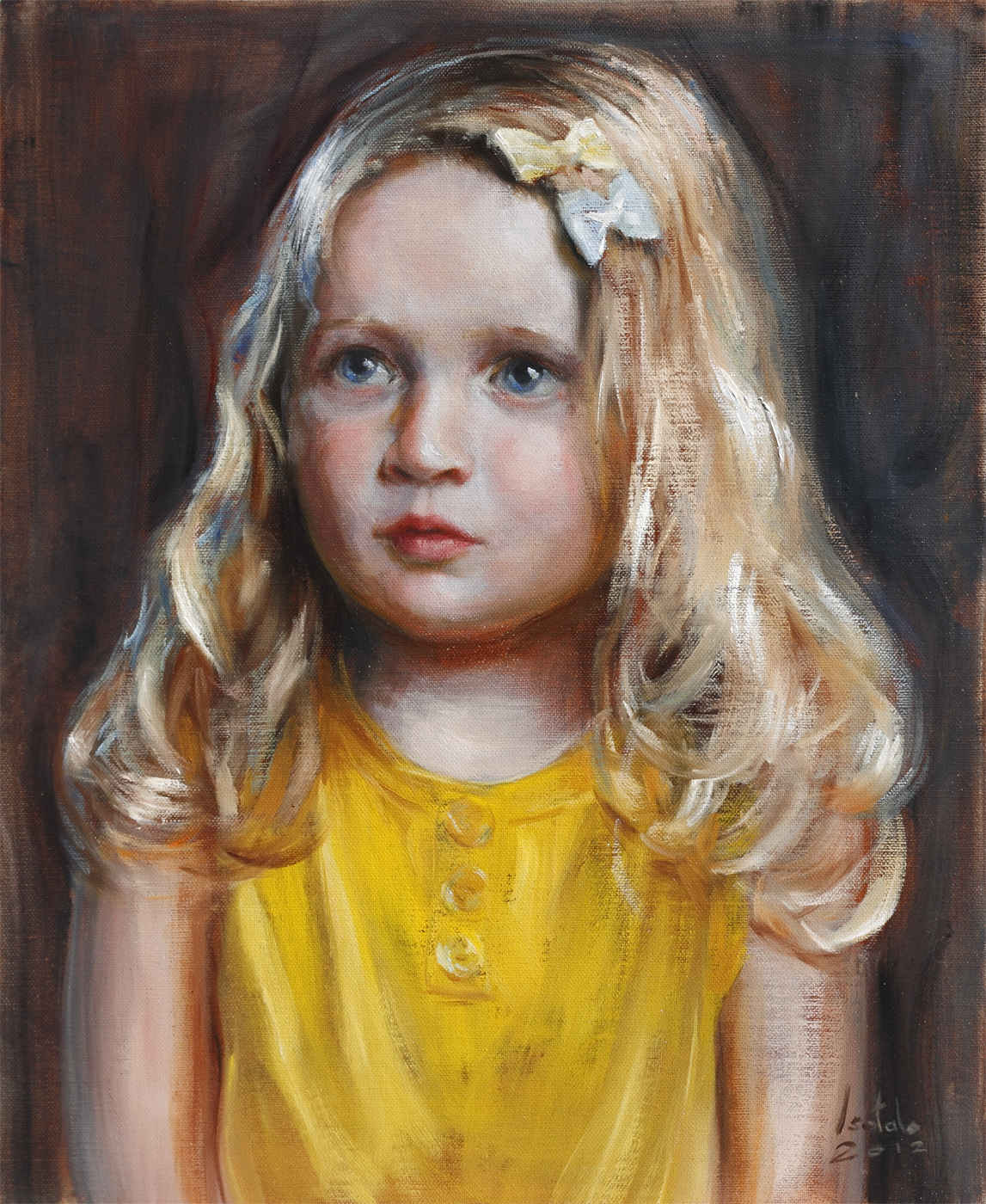 Collection of portraits oil paintings by various artists